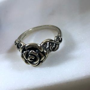 Jewelry - Sterling Silver Rose Ring